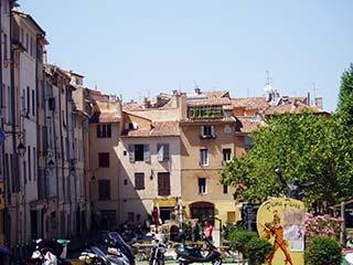 Aix-en-Provence Street Scene