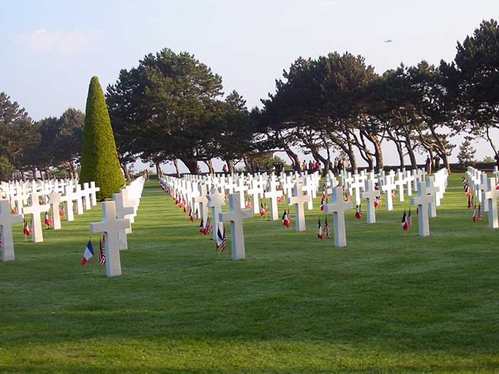 American Cemetery in Normandy Closed because of Government Shutdown