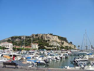 Village of Cassis in Provence