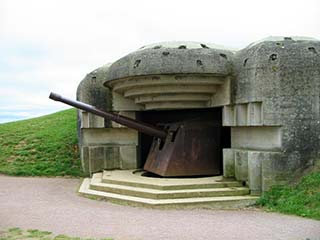 German Battery of Longues-sur-Mer