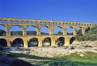 Pointe du Gard Aqueduct