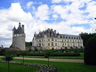 Chenonceau and Medici's Garderns
