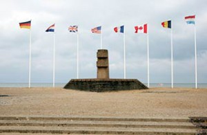 Juno Beach Memorial to WWII Soldiers
