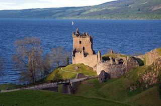 Urquhart Castle on Lochness